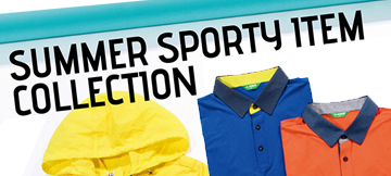 SUMMER SPORTS ITEM COLLECTION